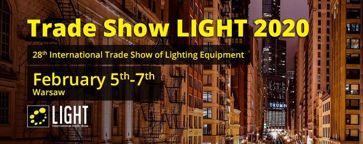 28th Trade Trade Show of Equipment Lampu di Warsawa Polandia